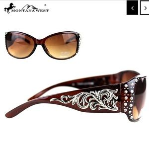 Montana West Boot Scroll Collection Sunglasses